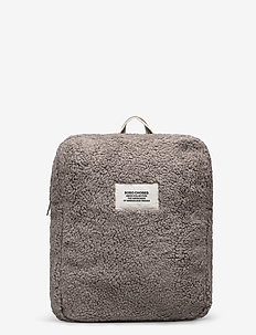 Sheepskin Schoolbag - rygsække - light grey