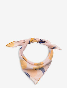 Solar Eclipse All Over Foulard - Écharpes - brown rice