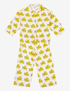 Cat All Over woven pyjamas - sets - high-rise