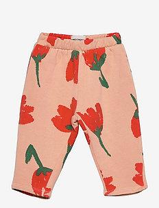 Big Flowers All Over jogging pants - sweatpants - rose cloud