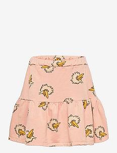 Birdie All Over fleece skirt - röcke - rose cloud