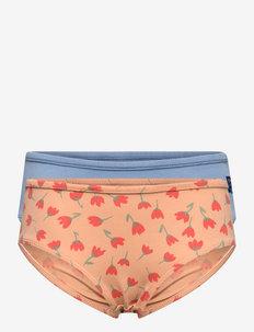 Girl underwear set - culottes et bas - rose cloud