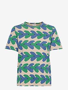 Birds Print Organic Cotton T-shirt - t-shirt & tops - rainy day