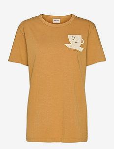 Cuf of Tea Organic Cotton T-shirt - t-shirt & tops - soybean