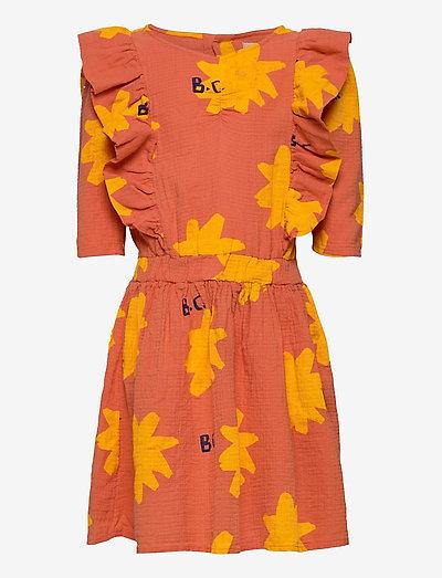 Sparkle All Over Woven Dress - kleider - topaz