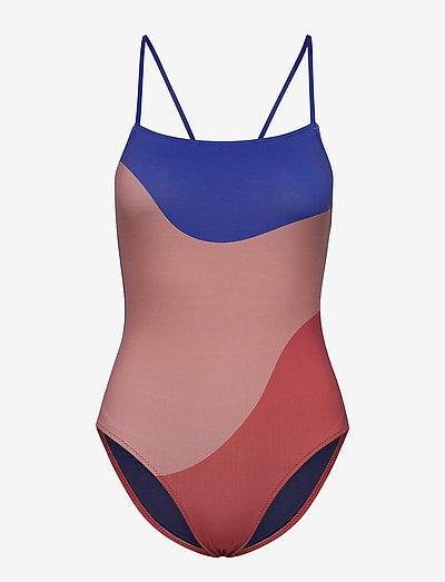 Lanscape Swimsuit - badeanzüge - nautical blue