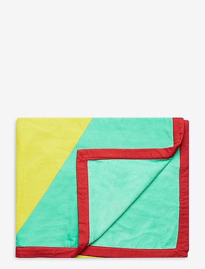Geometric Towel - badkleding - mint