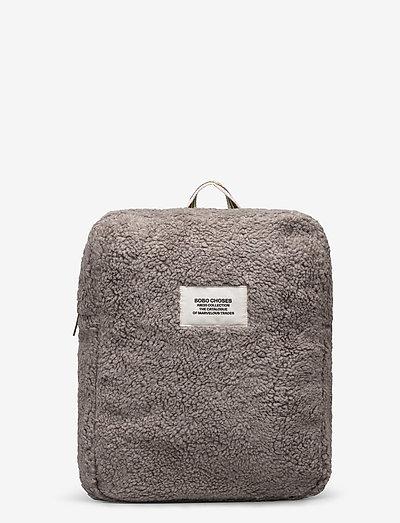 Sheepskin Schoolbag - rugzakken - light grey