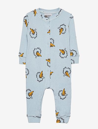 Birdie All Over overall - pyjamas - ballad blue