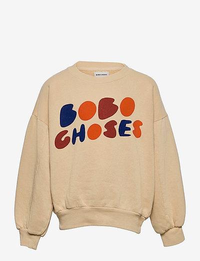 Bobo Choses sweatshirt - bluzy - soybean