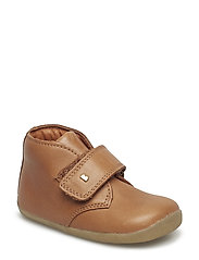 Bobux Step up Desert Boot - CARAMEL