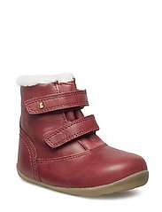 Bobux Step up Aspen Boot - DARK RED