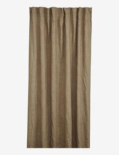 Sabina curtain length - gardiner & persienner - brown
