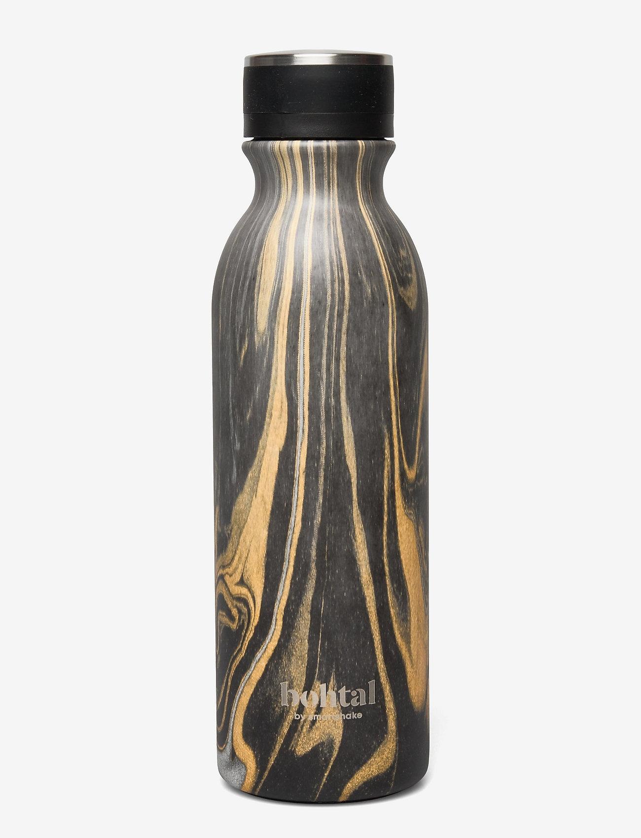 Bohtal - Bohtal - Insulated Flask - vannflasker og termoser - black marble - 0