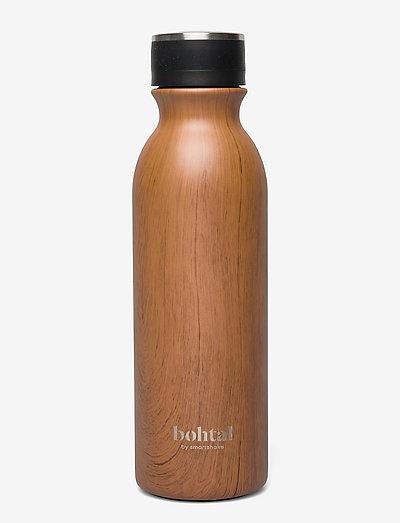 Bohtal - Insulated Flask - vannflasker og termoser - wood