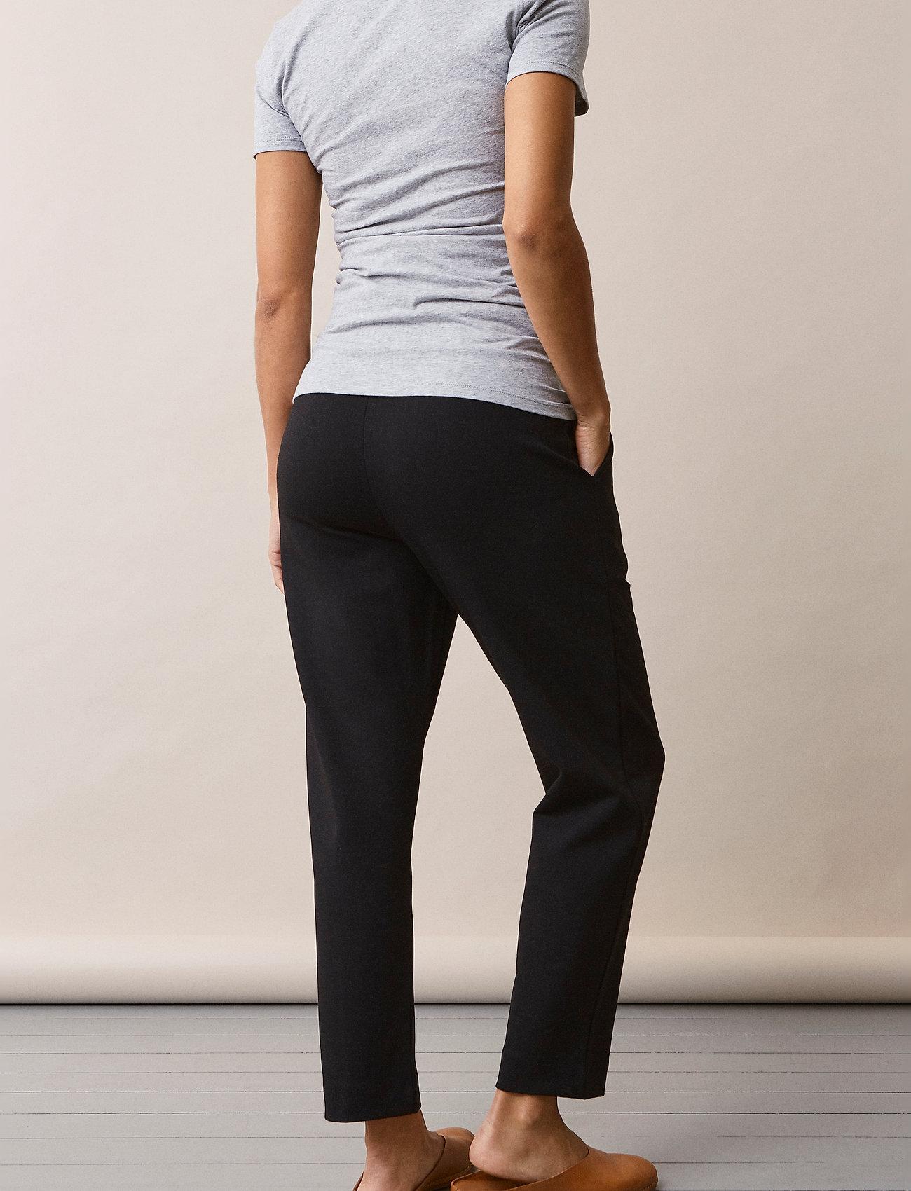 Boob - OONO cropped slacks - casual bukser - black - 6