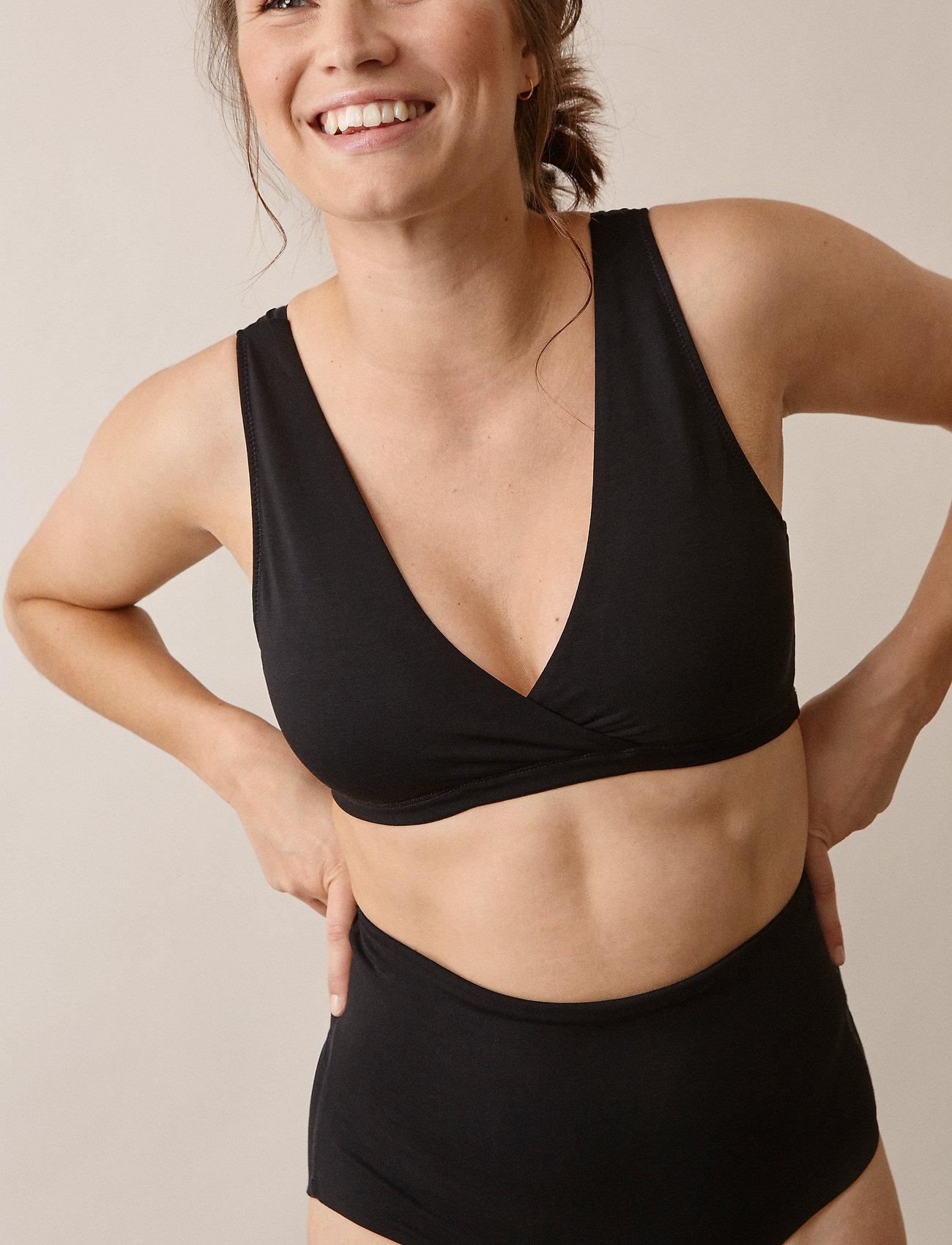 Boob - 24/7 bra - bra without wire - black