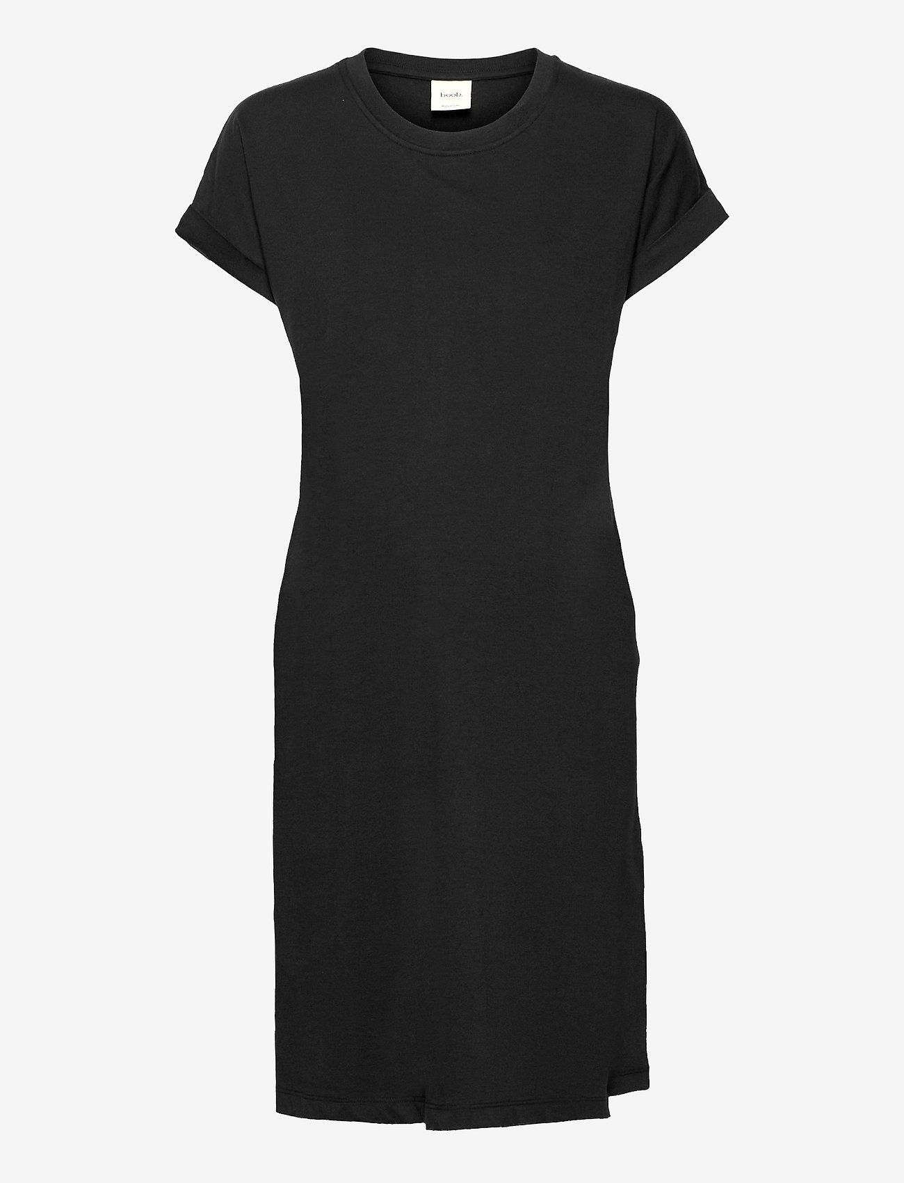 Boob - The-shirt dress - sommerkjoler - black - 0