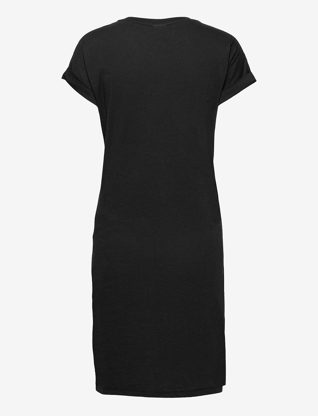 Boob - The-shirt dress - sommerkjoler - black - 1