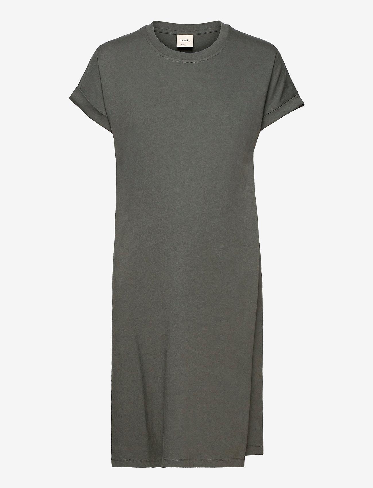 Boob - The-shirt dress - sommerkjoler - willow green - 0