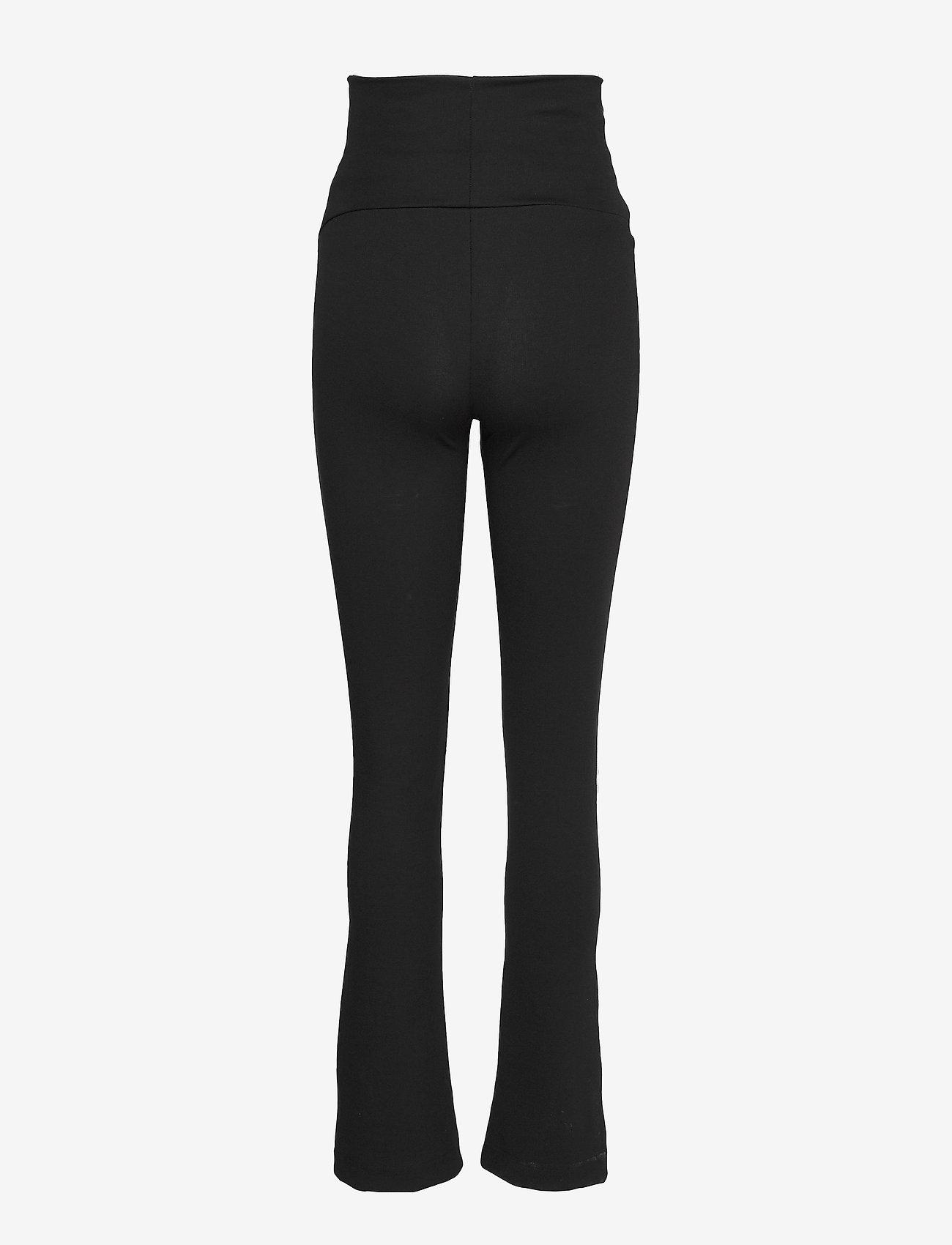 Boob - Once-on-never-off straight leg - straight leg trousers - black
