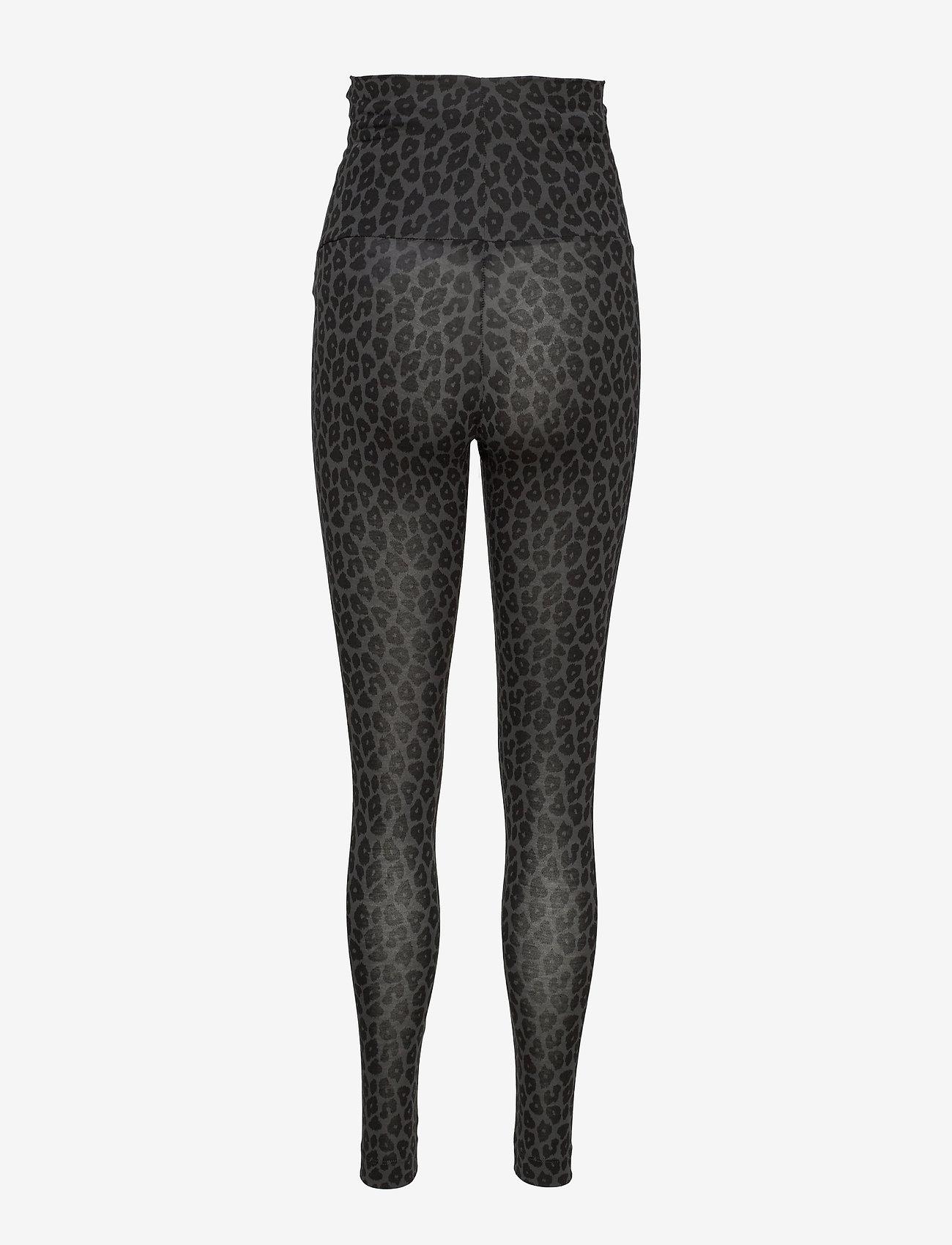 Boob - Once-on-never-off leggings - leggings - leo print grey/black - 1