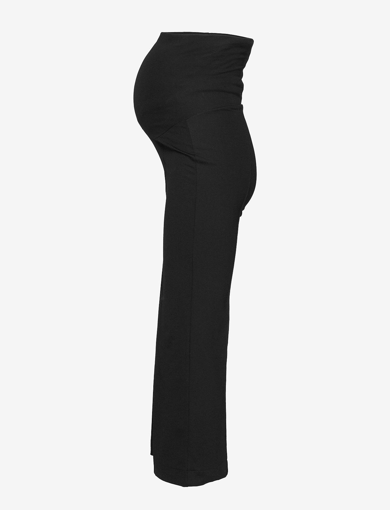 Boob - Once-on-never-off cropped pants - bukser med brede ben - black - 3