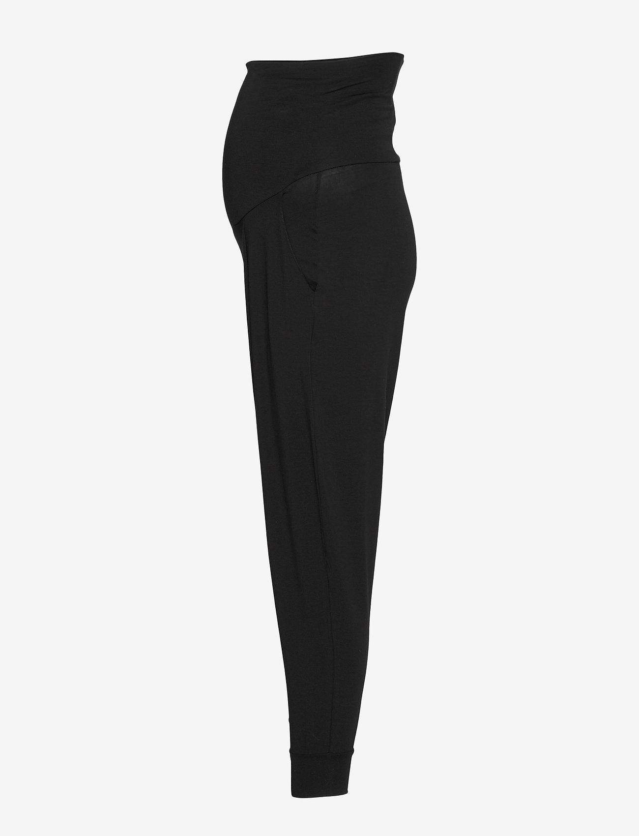 Boob - Once-on-never-off easy pants - bukser med lige ben - black - 3