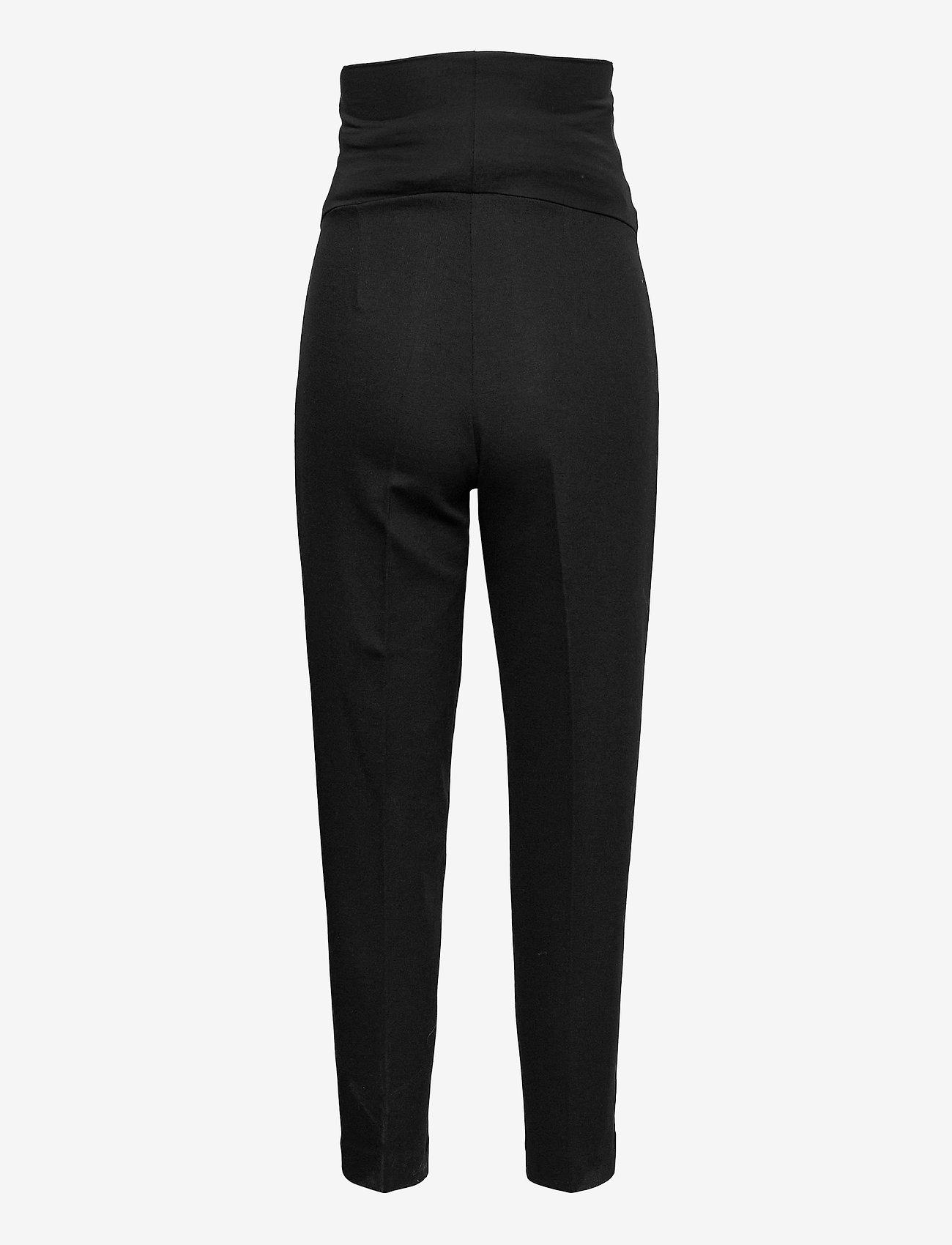 Boob - OONO cropped slacks - casual bukser - black - 2