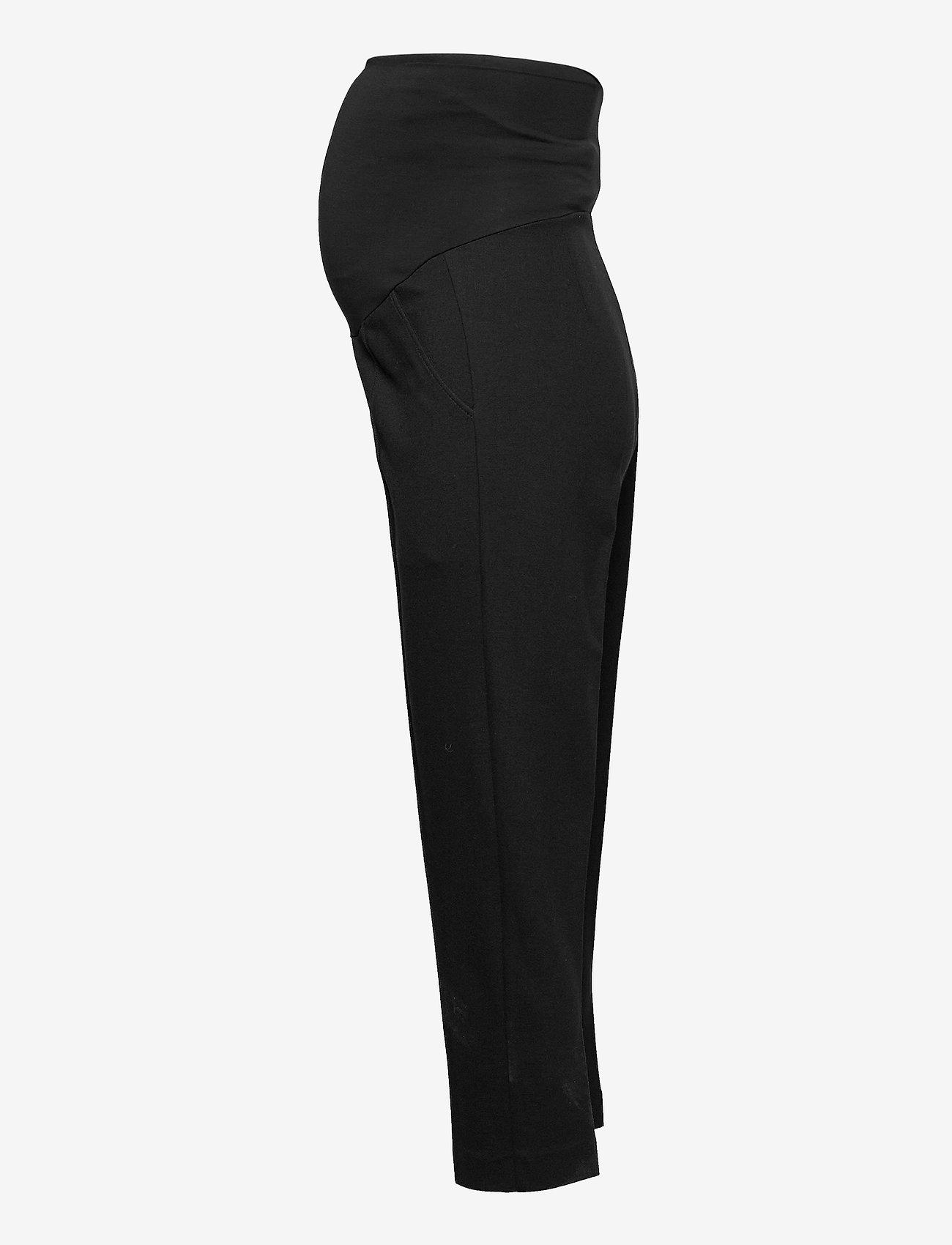 Boob - OONO cropped slacks - casual bukser - black - 3