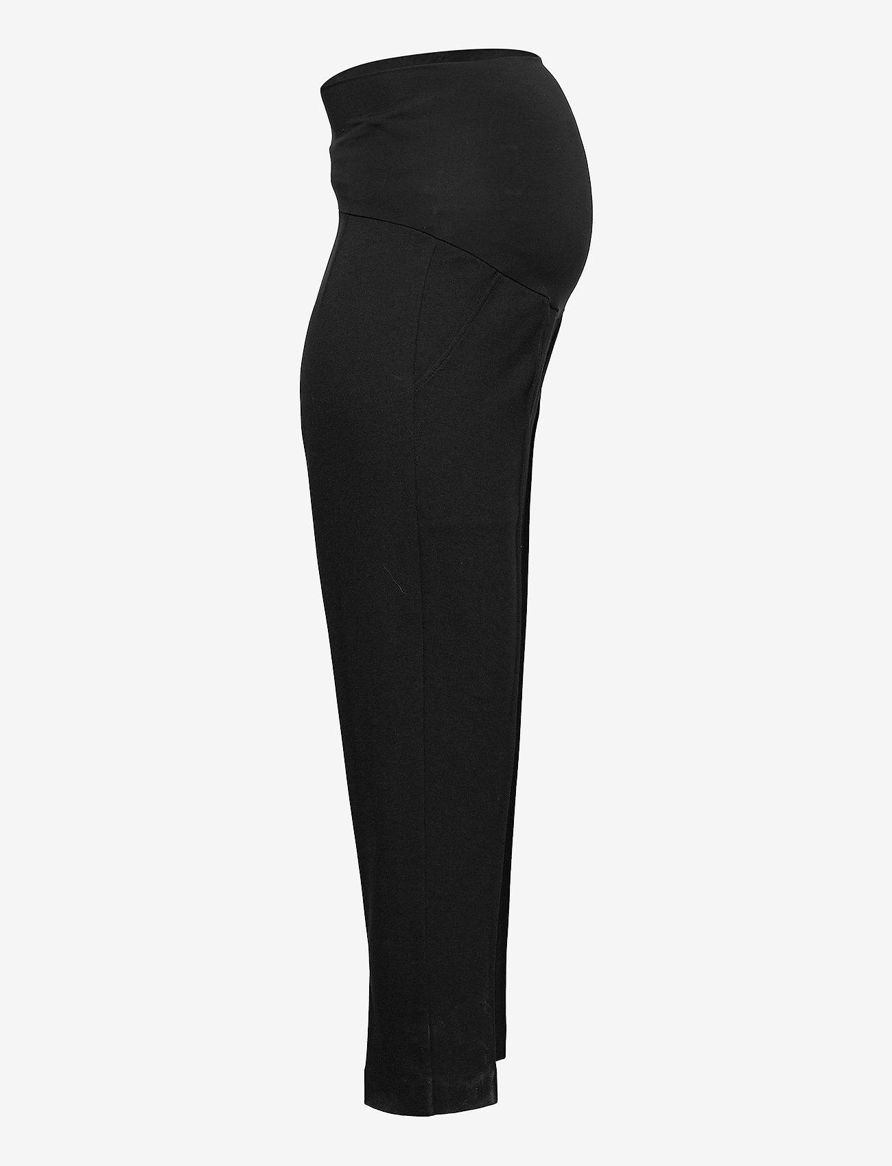 Boob - OONO cropped slacks - casual bukser - black - 4
