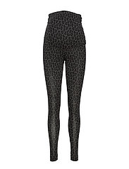 Once-on-never-off leggings - LEO PRINT GREY/BLACK