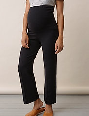 Boob - Once-on-never-off cropped pants - bukser med brede ben - black - 5