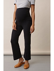 Boob - Once-on-never-off cropped pants - wide leg trousers - black - 4