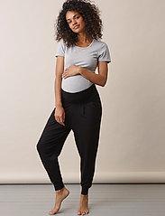 Boob - Once-on-never-off easy pants - bukser med lige ben - black - 5