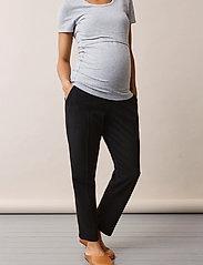 Boob - OONO cropped slacks - casual bukser - black - 5