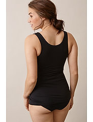 Boob - 24/7 singlet - sleeveless tops - black - 4