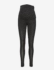 Boob - Once-on-never-off leggings - leggings - leo print grey/black - 0