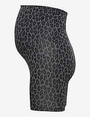 Boob - Once-on-never-off bicycle shorts - cykelshorts - leo print grey/black - 2