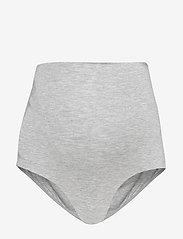 Boob - Soft support brief - broekjes - grey melange - 1