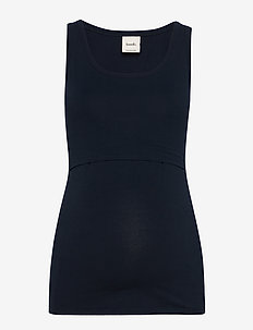 Classic tank top - sleeveless tops - midnight blue