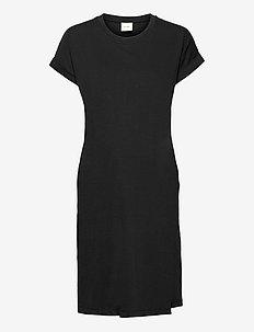 The-shirt dress - hverdagskjoler - black
