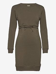 B Warmer dress - hverdagskjoler - pine green