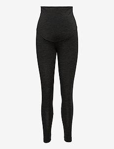 OONO wool leggings - leggings - dk greymelange