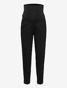 OONO cropped slacks - vabaajapüksid - black
