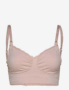 Fast Food bra/Classic - sport bras: medium - soft pink