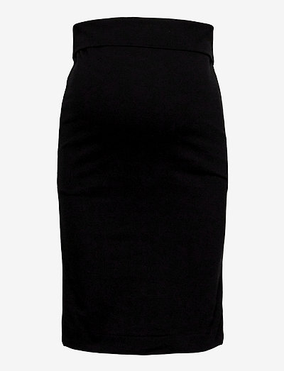 OONO pencil skirt - midi nederdele - black