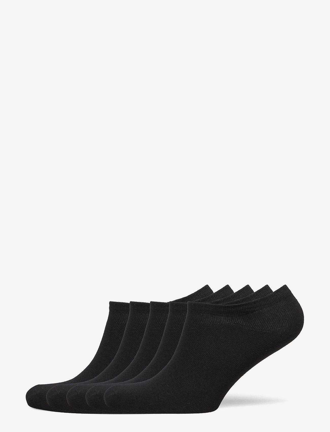 Boozt Merchandise - Odense 5-pack sock - ankle socks - black - 0