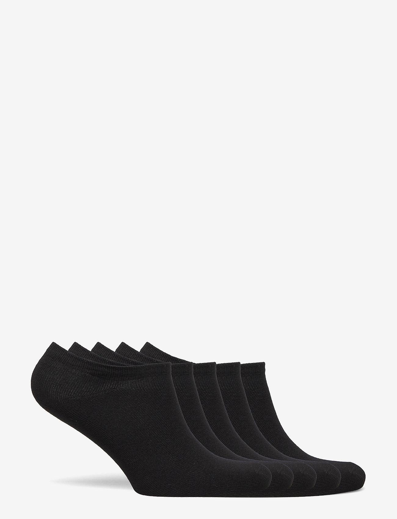 Boozt Merchandise - Odense 5-pack sock - ankle socks - black - 1