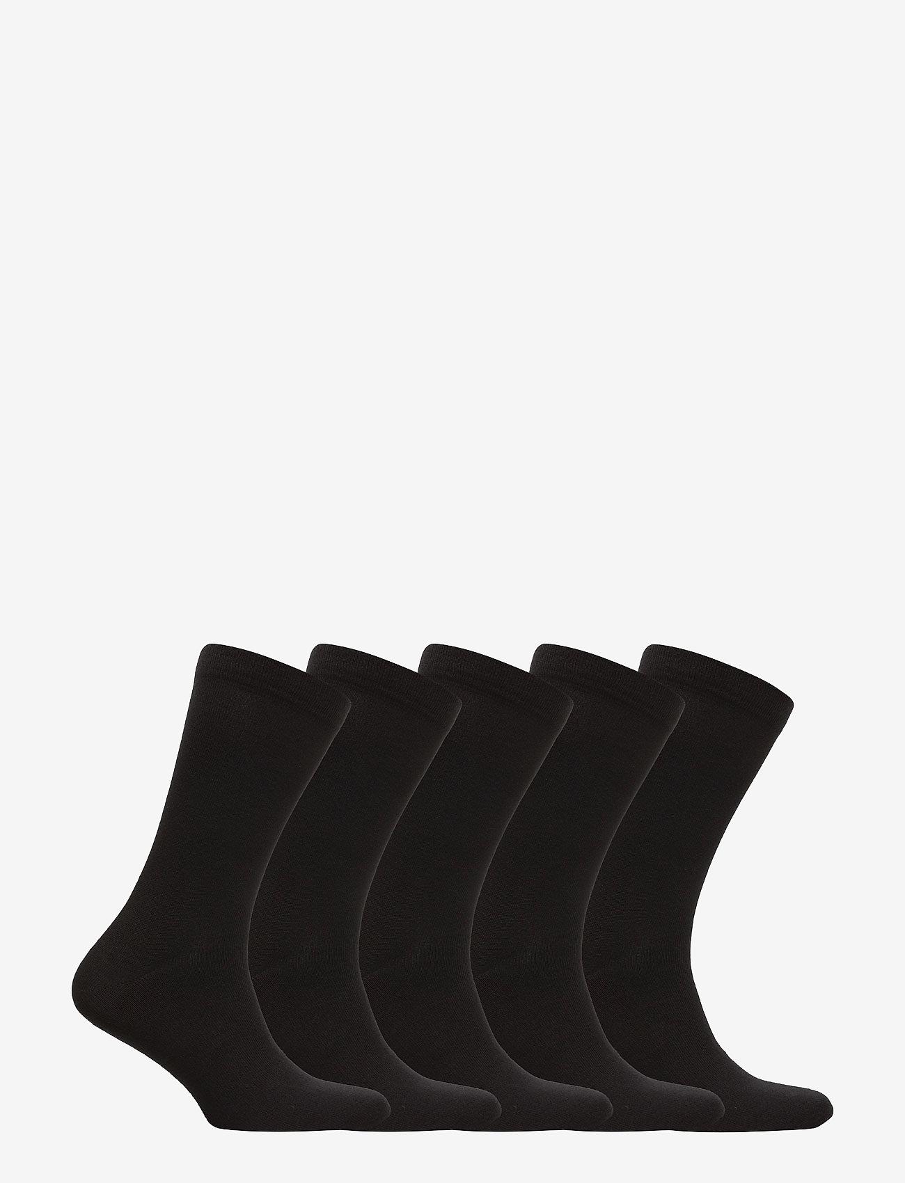 Boozt Merchandise Aarhus 5-pack sock - Sokker BLACK - Menn Klær